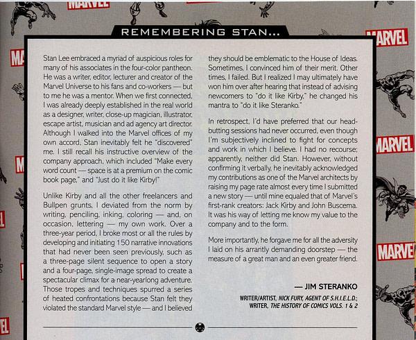 Marvel Comics to Publish Steranko is Revolutionary! King-SizeHardcover