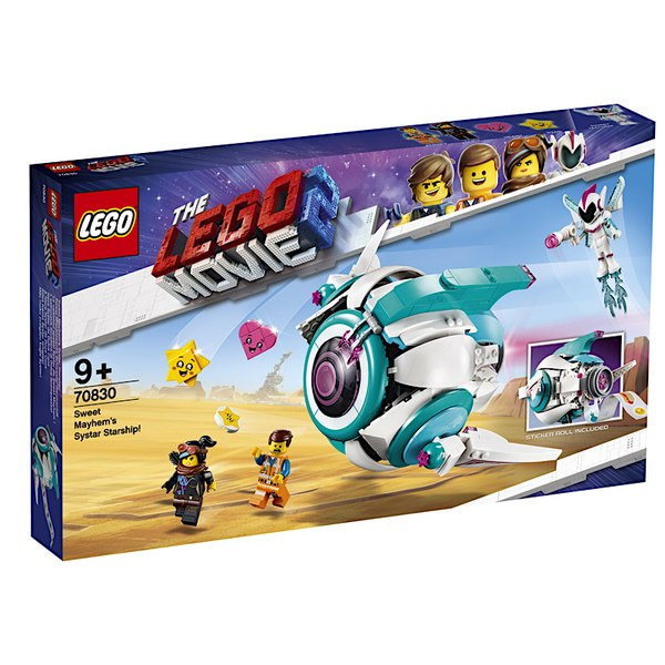 LEGO Movie 2 Sweet Mayhems Starship 1