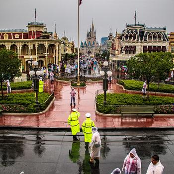 magic kingdom rainy day may 2018