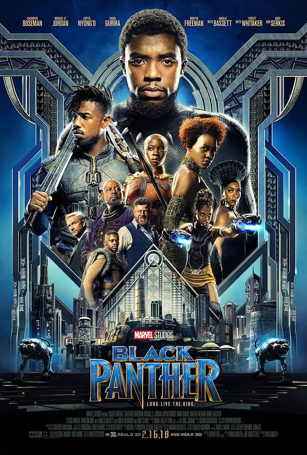 black panther poster allies enemies