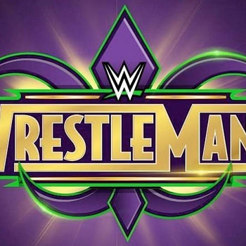 wrestlemania 34 logo