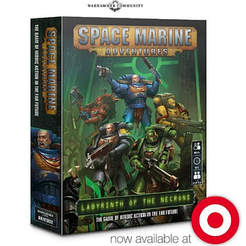 "Target Spotted! ""Space Marine Adventures"" Seen at Retailer"