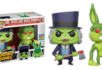 Looney Tunes mr Hyde and Bugs Bunny Two-pack Funko SDCC