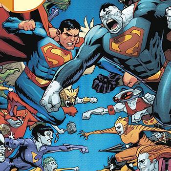 Superman #44 cover by Patrick Gleason and Alejandro Sanchez