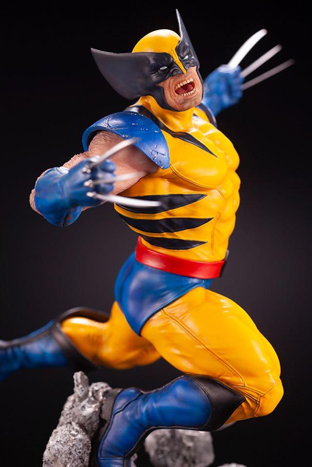 Wolverine Goes Berserk with New Kotobukiya Statue