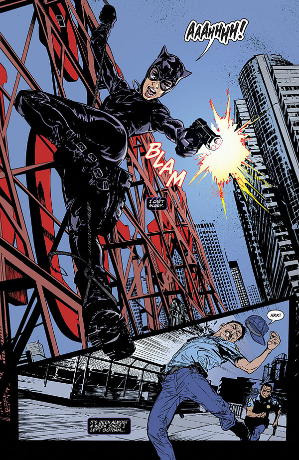 Catwoman #1 art by Joelle Jones and Laura Allred
