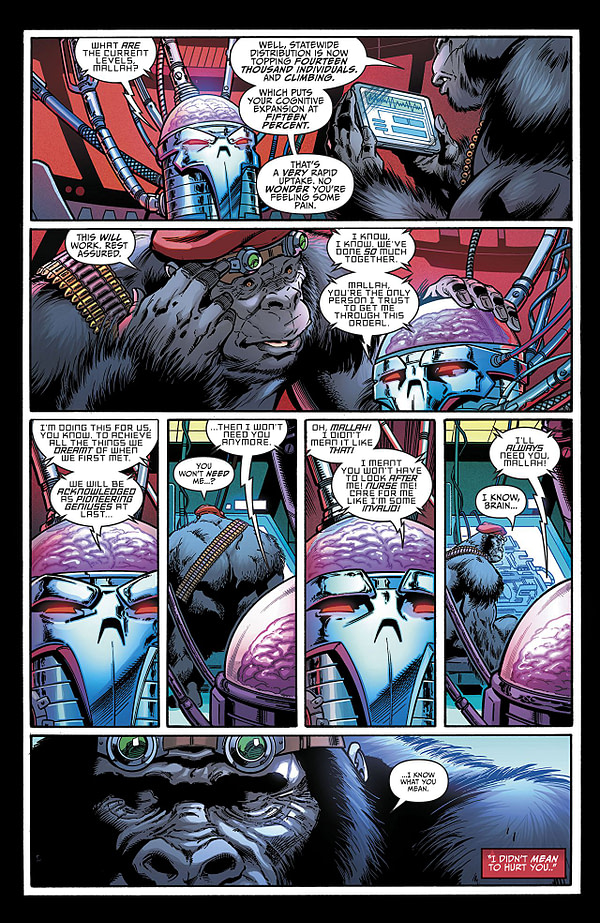 Titans #21 art by Paul Pelletier, Andrew Hennessy, and Adriano Lucas