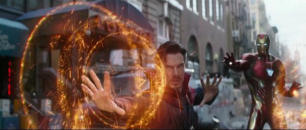 Avengers: Infinity War - Dr. Strange and Iron Man