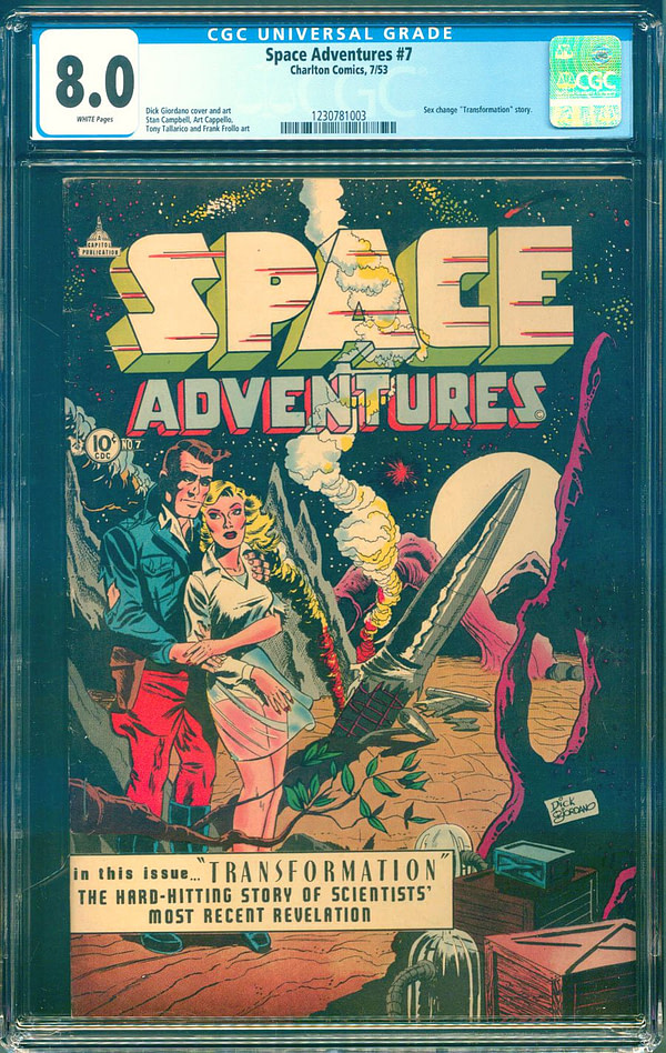The Surprising Trans-Themed Story in Space Adventures #7 from 1953