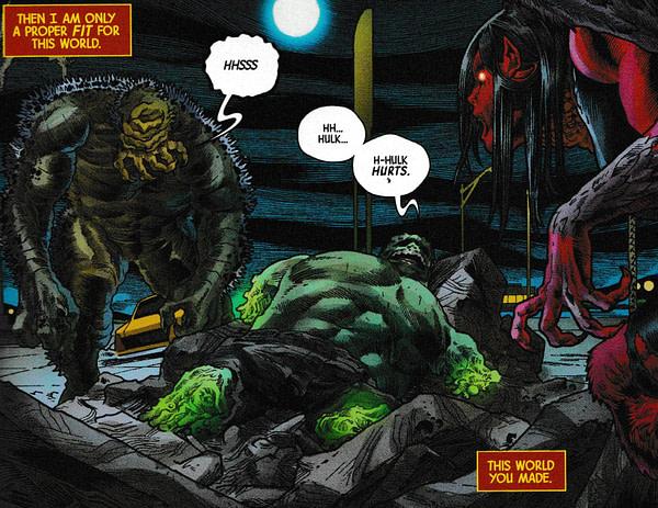 Don't Read Immortal Hulk #19 On a Full Stomach