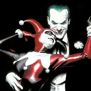 Joker and Harley Quinn by Alex Ross