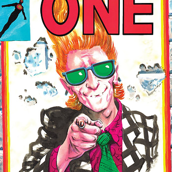 Rick Veitch's the One #5 cover by Rick Veitch