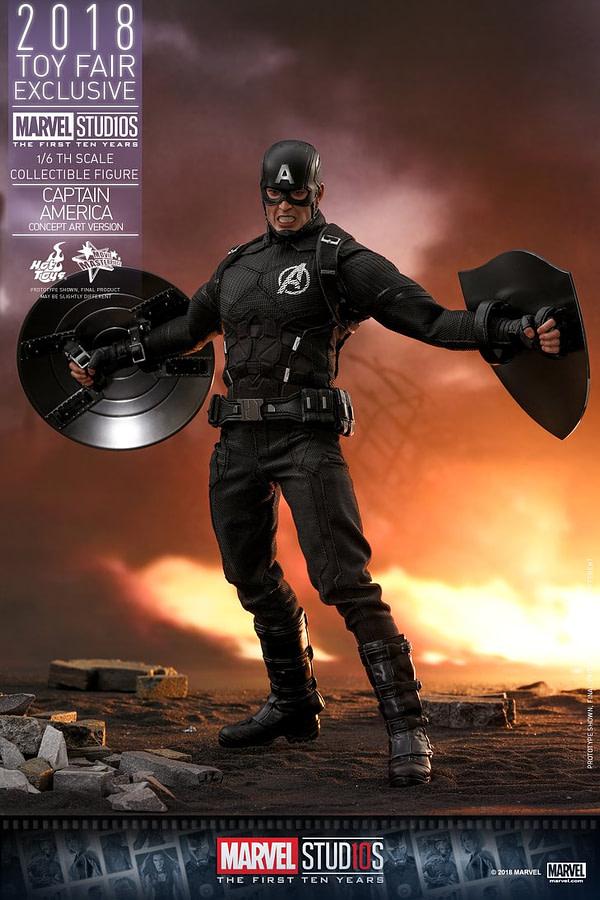 Hot Toys Concept Art Captain America 5