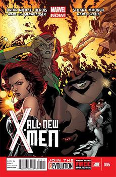 all new x men 5