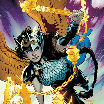 Jane Foster Confirmed as Valkyrie for New Series by Jason Aaron and Al Ewing