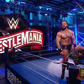 Drew McIntrye closes out WrestleMania 36 Night Two as WWE Champion.