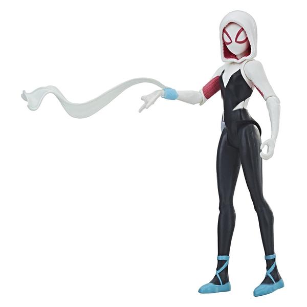 MARVEL SPIDER-MAN INTO THE SPIDER-VERSE 6-INCH Figure Assortment (Spider-Gwen) - oop