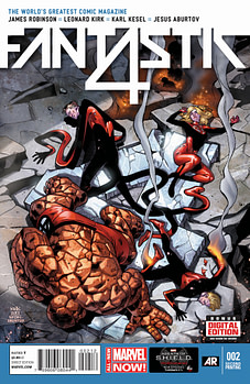 Fantastic_Four_2_Second_Printing