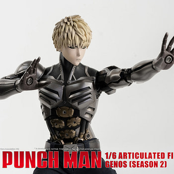 """One Punch Man"" Genos Brings His A Game with ThreeZero"