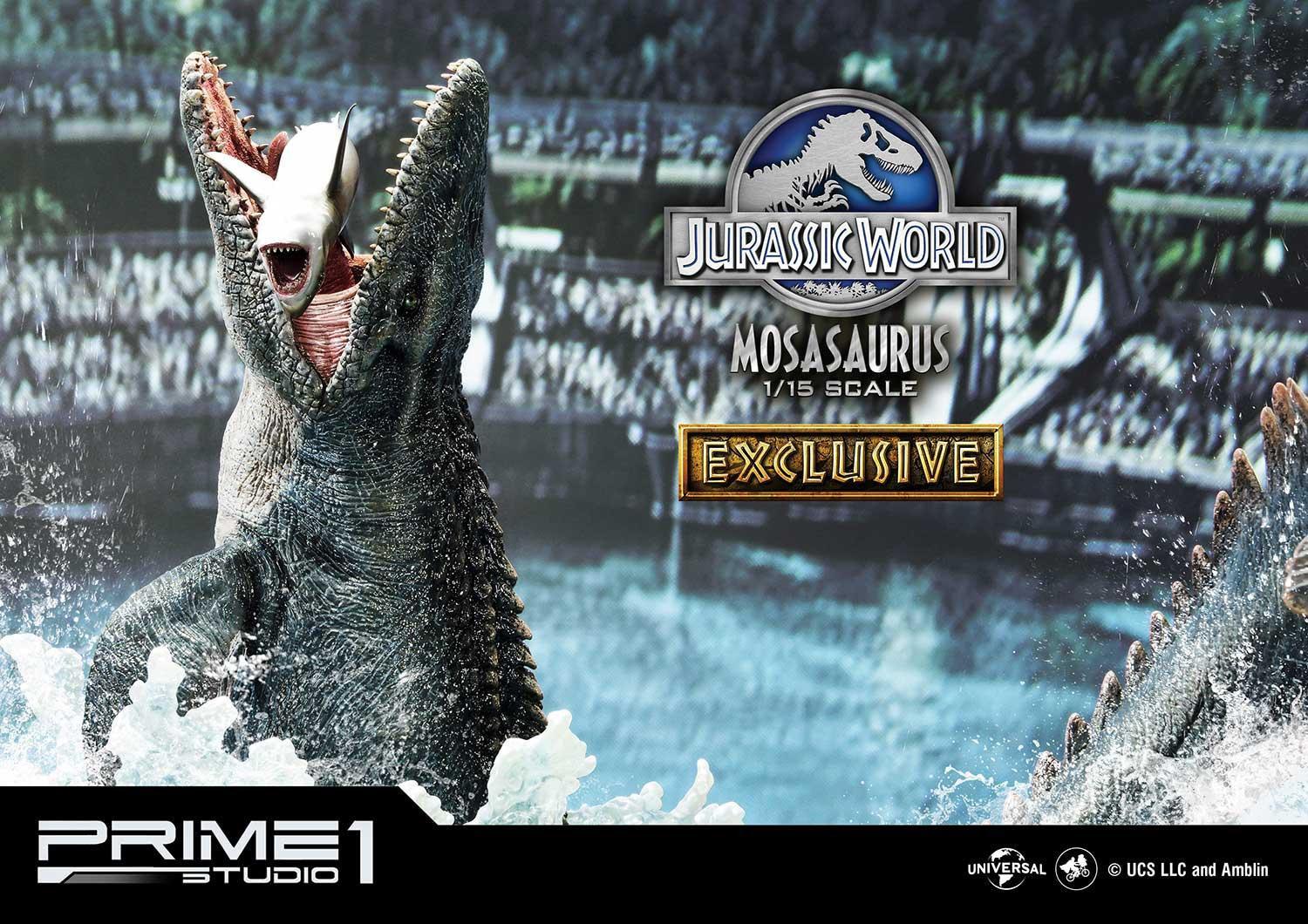 Jurassic World Goes Wet and Wild with New Prime 1 Studio Statue