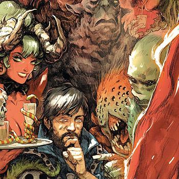 Doctor Strange #386 cover by Niko Henrichon