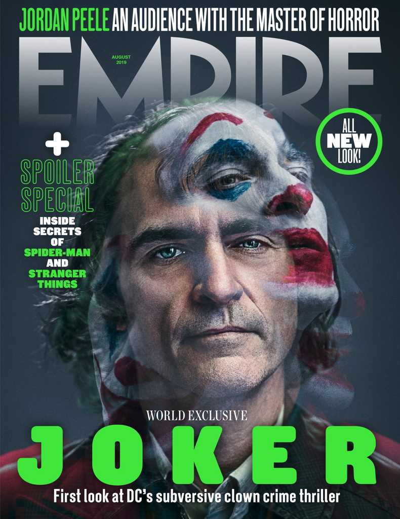 """New Look at """"Joker"""" on Empire's New Cover"""