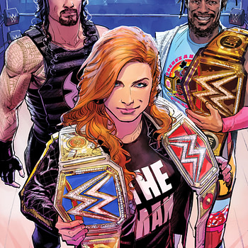 WWE Smacdown's Move to Fox Gets Its Own Comic Starring Becky Lynch