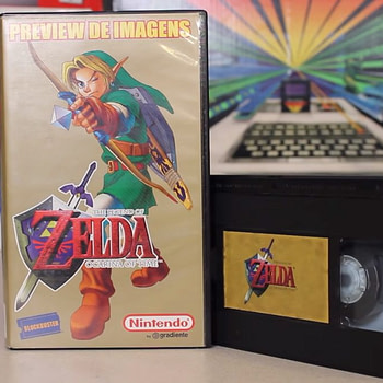 "Uncovered ""Legend Of Zelda: Ocarina of Time"" VHS Shows Beta Footage"