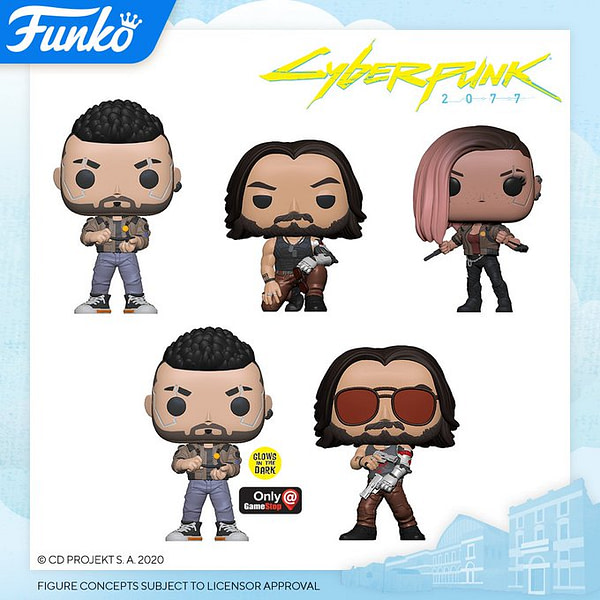 "London Toy Fair Funko Pop Reveals - ""Cyberpunk 2077"""