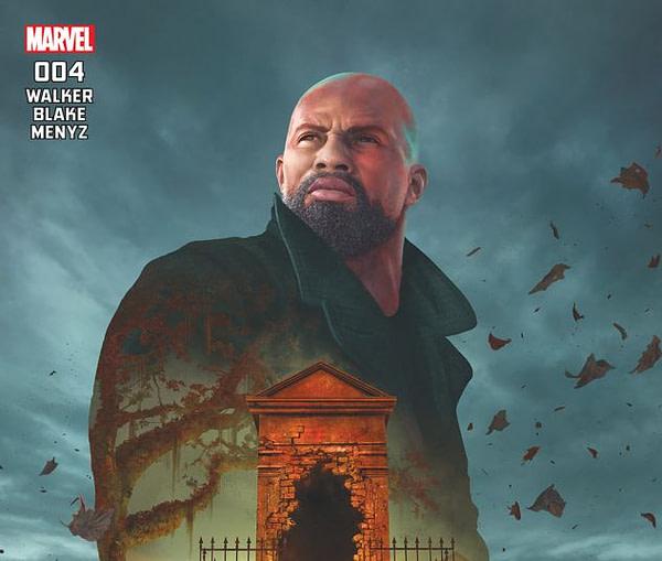Luke Cage cover art by Rahzzah