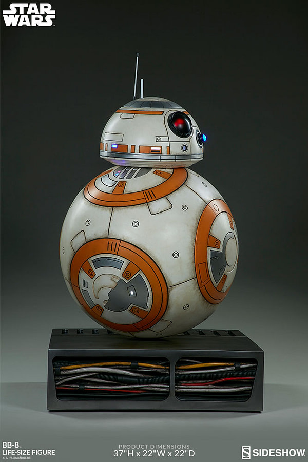 star wars fans can now own a lifesize bb8  bleeding cool