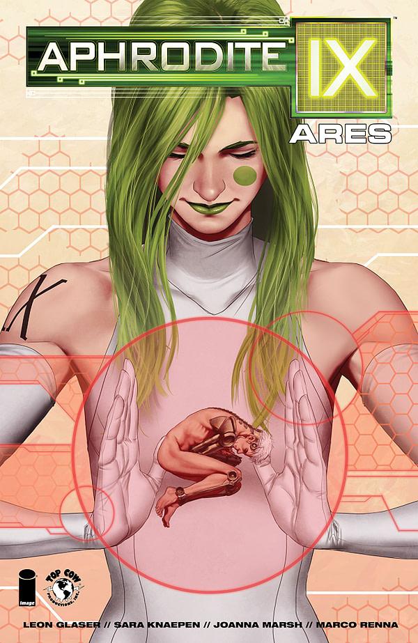 Aphrodite IX Ares cover by Sara Knaepen