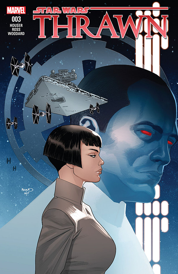 Star Wars: Thrawn #3 cover by Paul Renaud