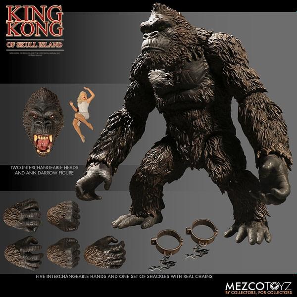 Mezco Toyz King Kong 7