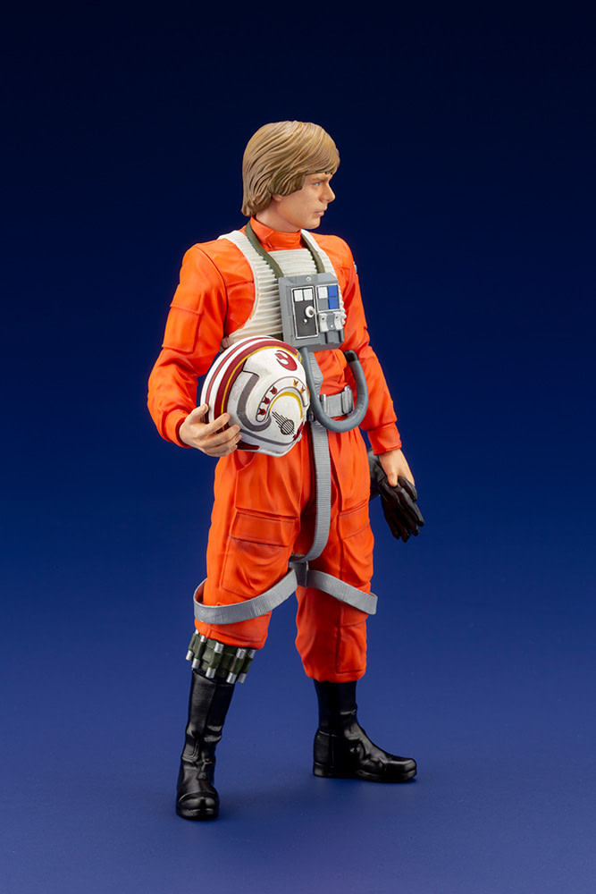Luke Skywalker Is Ready for the Death Star with New Kotobukiya Statue