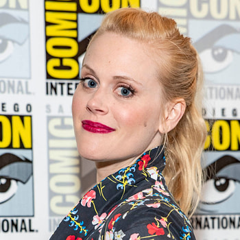 Janet Varney attends Comic-Con International.