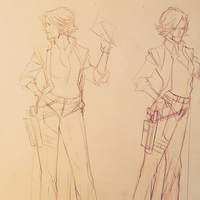 Character Designs from Sean Gordon Murphy's New project