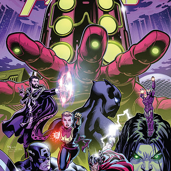 Avengers #2 cover by Ed McGuinness,Mark Morales, and David Curiel