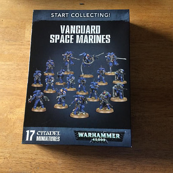 "Review: GW's ""Vanguard Space Marines"" - ""Warhammer 40,000"""