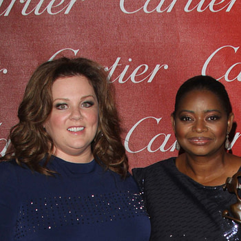Melissa McCarthy and Octavia Spencer