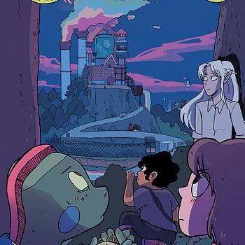 Modern Fantasy #2 cover by Kristen Gudsnuk