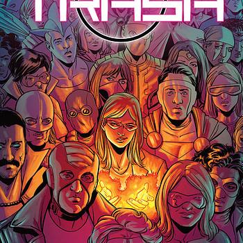 Brilliant Trash #6 cover by Mike Norton and Addison Duke