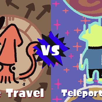Splatoon 2's Next Splatfest WIll Debate Teleportation vs. Time Travel