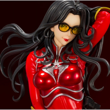 G.I. Joe Gets Sexy Once Again with Baroness Kotobukiya Statue