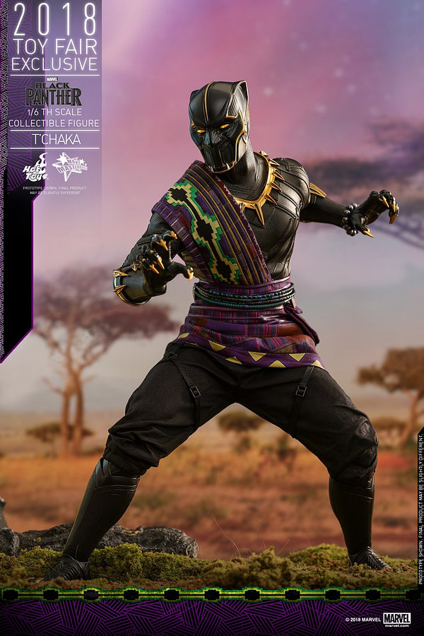 Hot Toys T'Chaka Black Panther 11