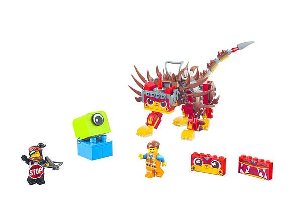 LEGO movie 2 Unikitty and Warrior Lucy 2