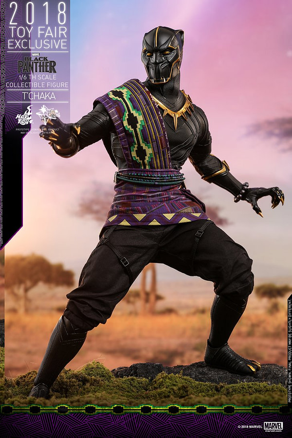Hot Toys T'Chaka Black Panther 10