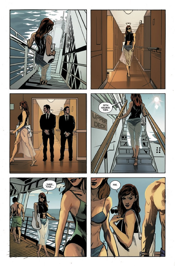 Web of Black Widow #2 [Preview]