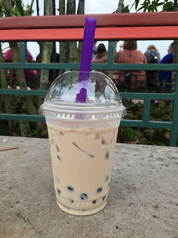 bubble tea disney world epcot