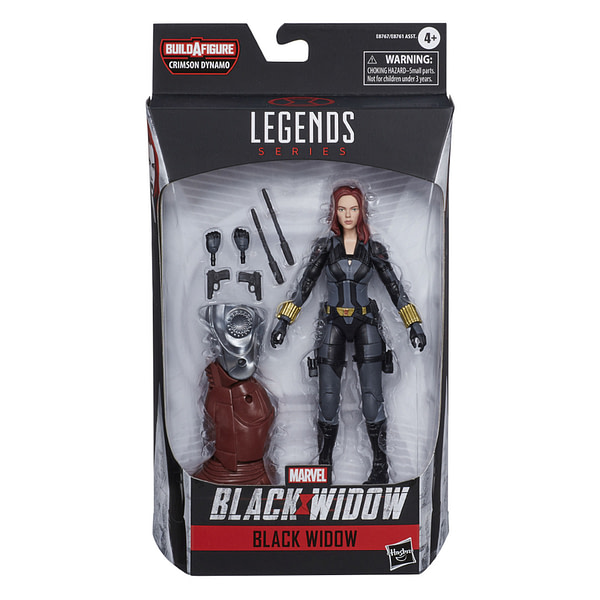 Black Widow Marvel Legends Hit in the Spring, Up For Preorder